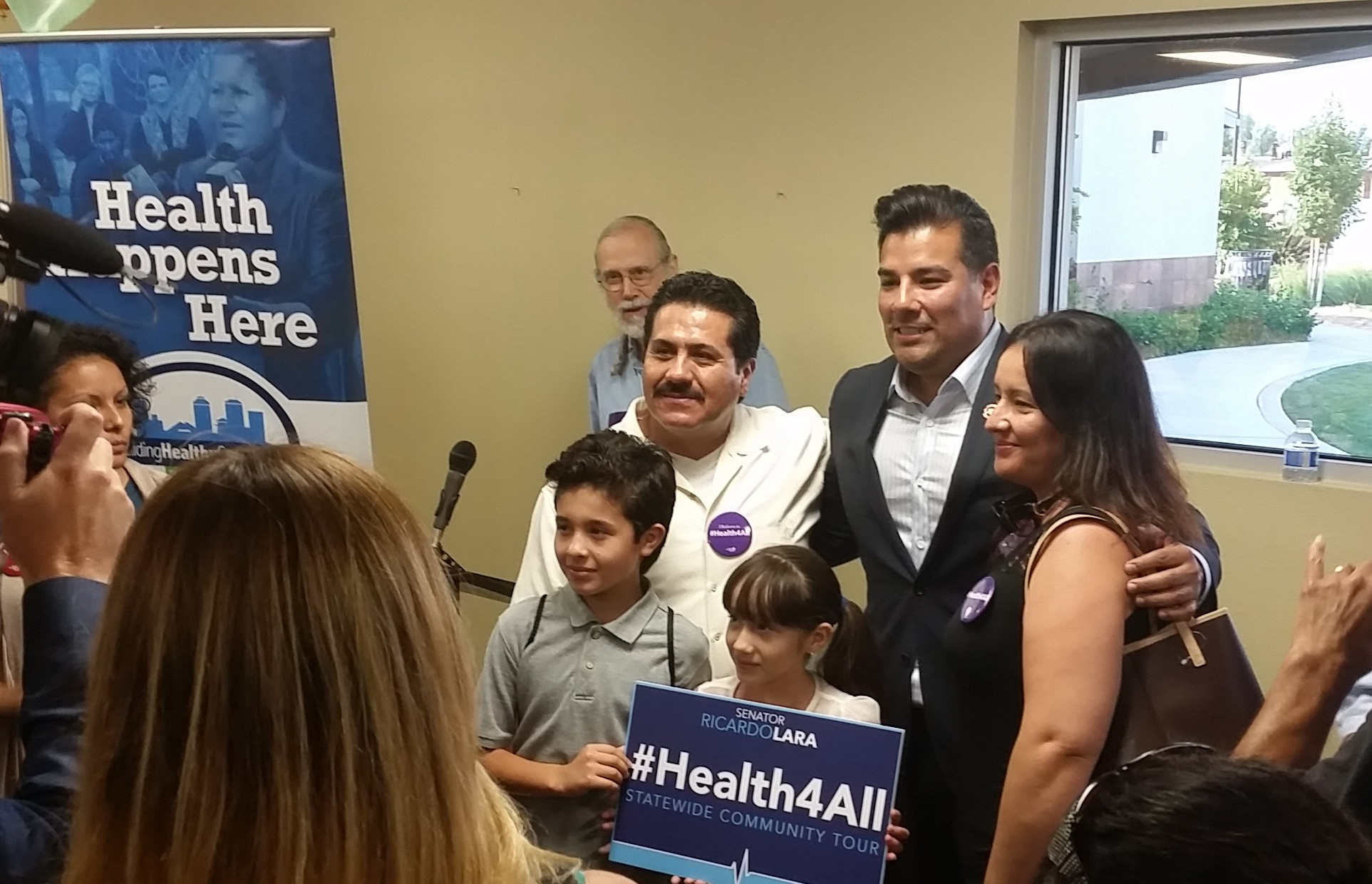 State Senator Lara's #Health4All Tour Stops in Fresno